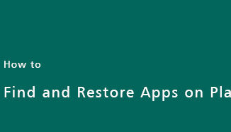 find-restore-app-on-play-store